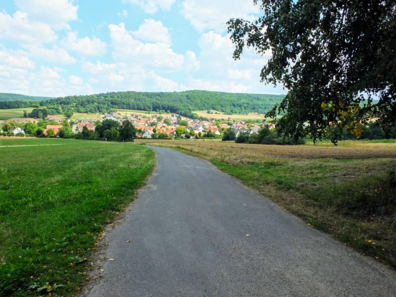 pathway into village