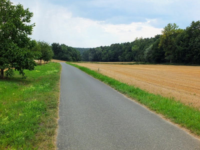 path through countryside