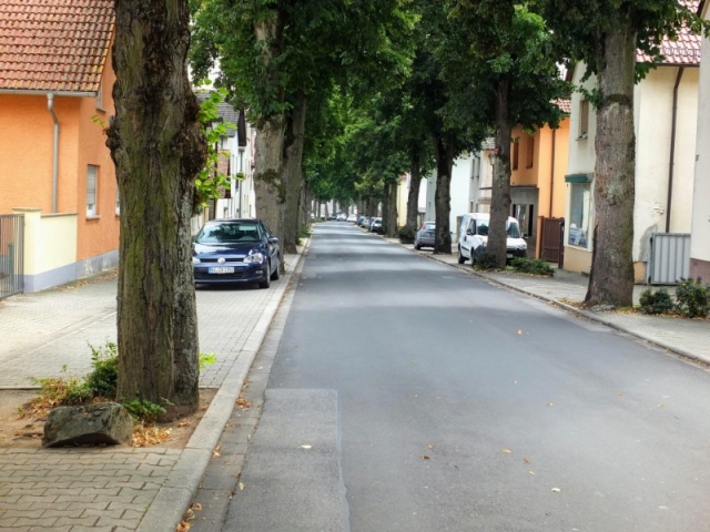 route through Strullendorf