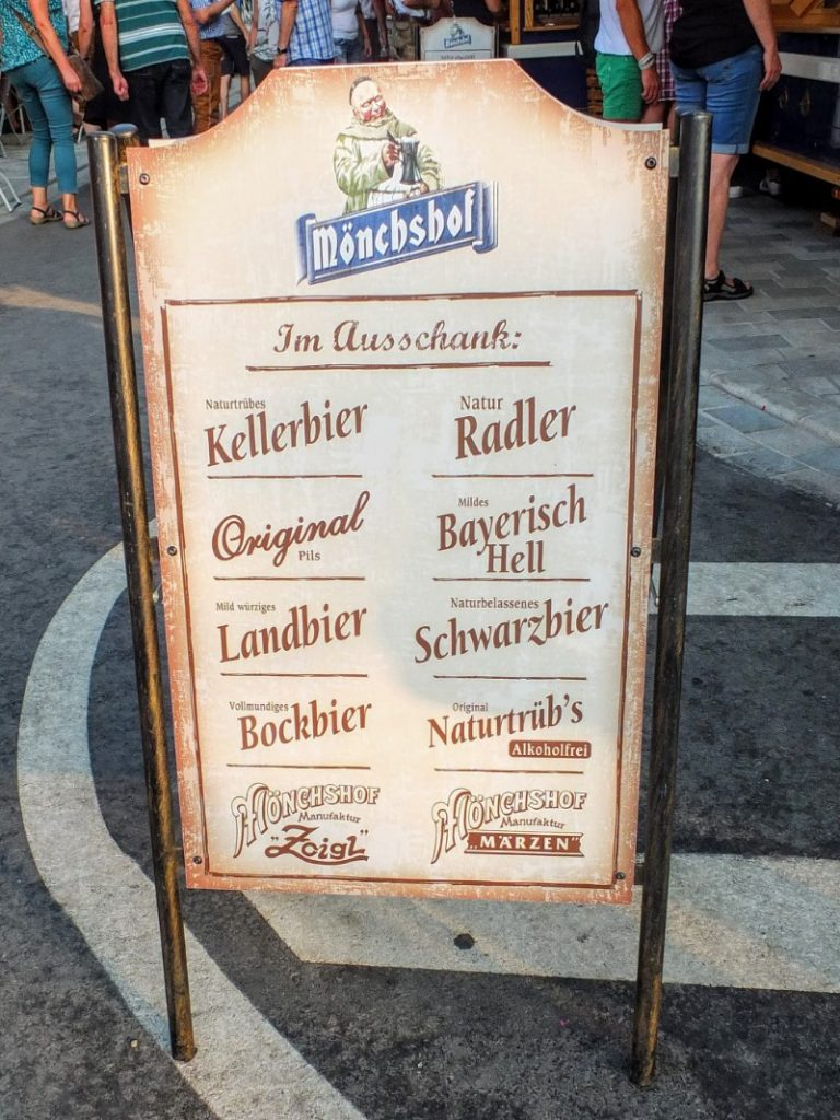 specialty beer selections