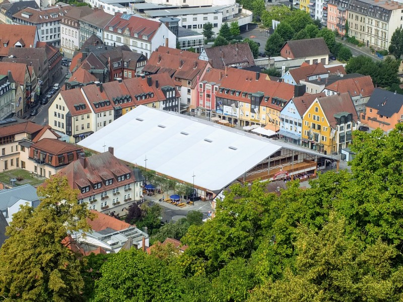 Fest Stadl from above