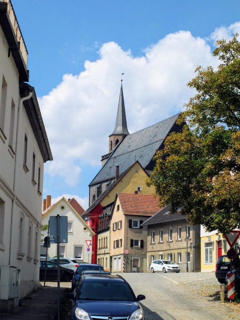 re-entering Kulmbach