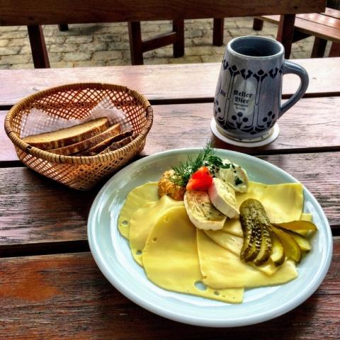 lunch at Landgasthof Büttel Geisfeld