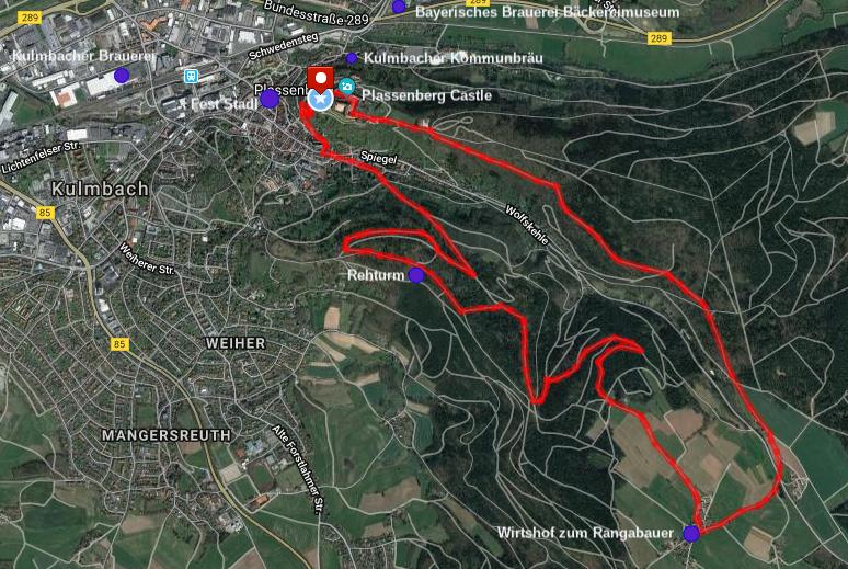 Kulmbach Rehberg Hike