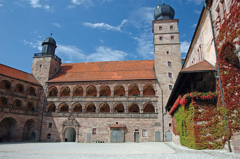 Plassenburg Courtyard