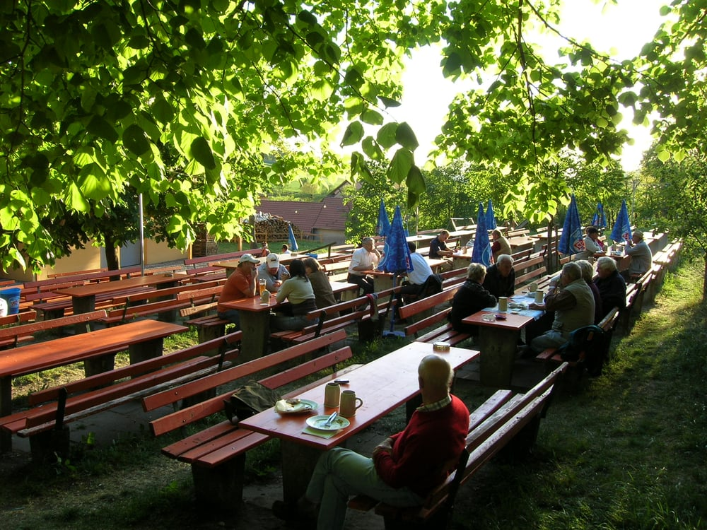 Brauerei Honig beer garden - image by Andi H.