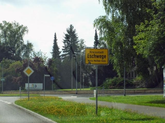 entering Eschwege