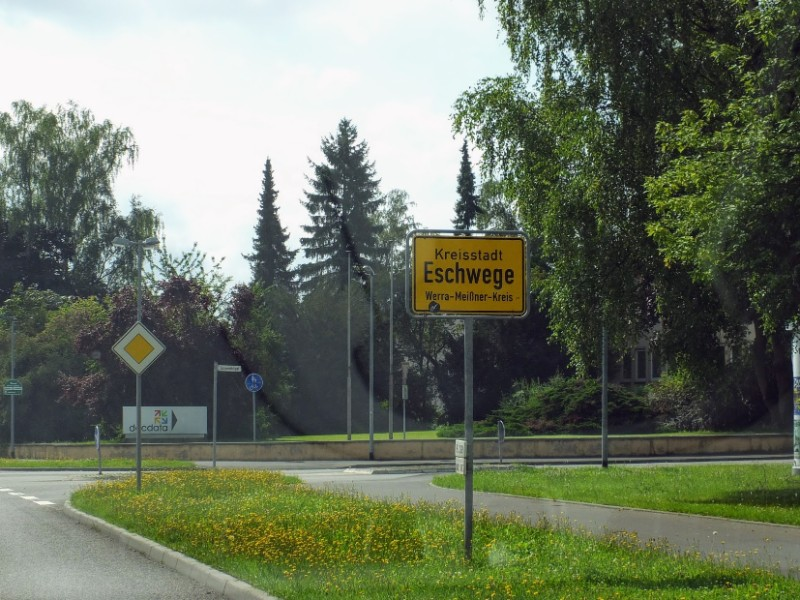 entering Eschwege