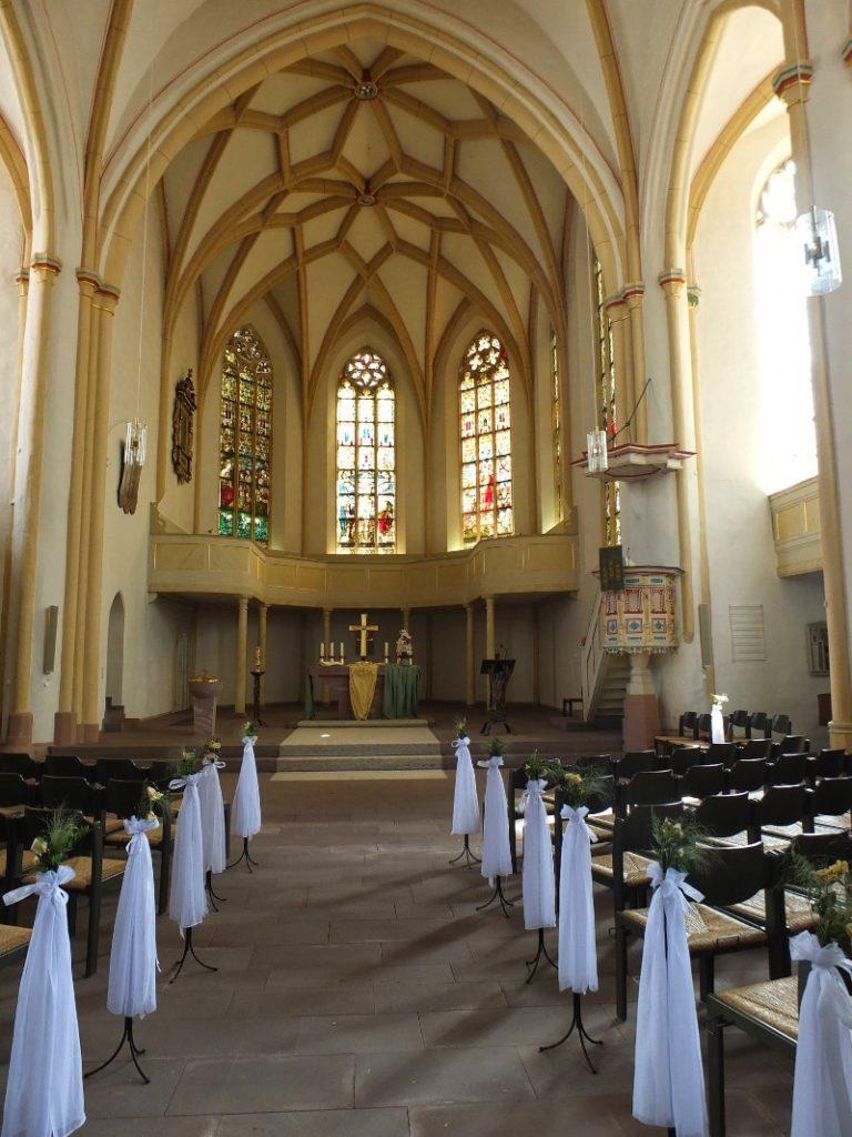 Marktkirche St. Dionys - where many ancestors were christened