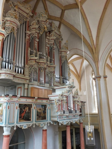 Marktkirche St. Dionys - where many ancestors were christened