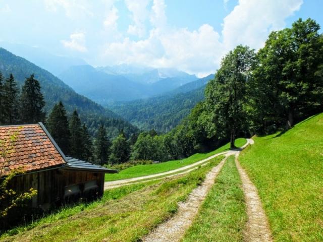 mountain route
