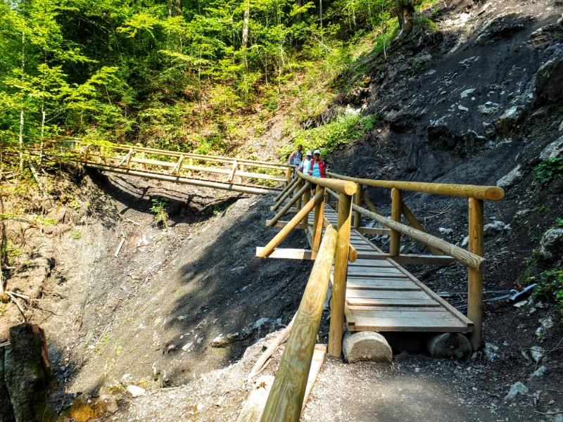 bridging an earthslide