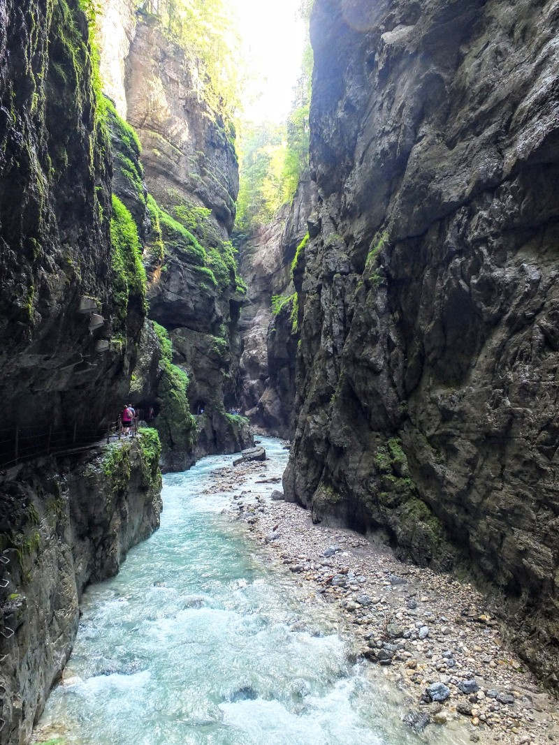 in the gorge