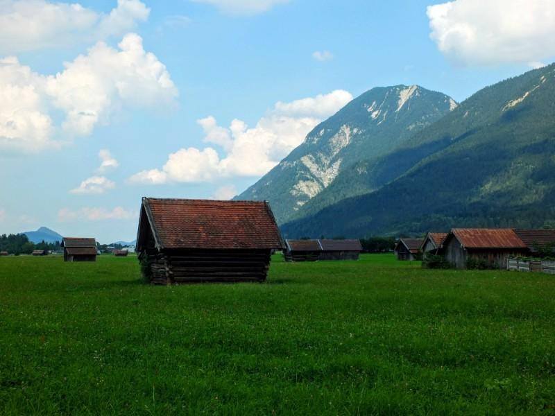 Valley floor near Garmisch