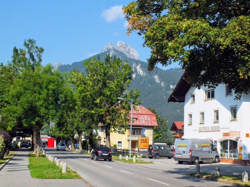 Reutte, Austria in the Tirol