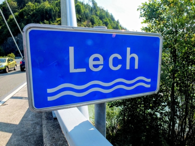 Crossing the River Lech