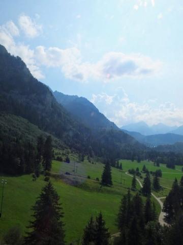view ascending Tegelberg
