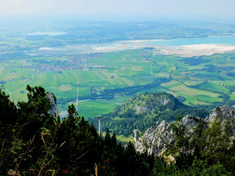 view north from Tegelberg