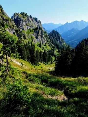 valley descent