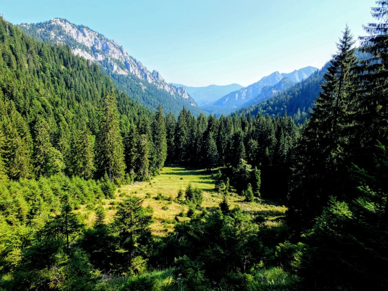 high valley view