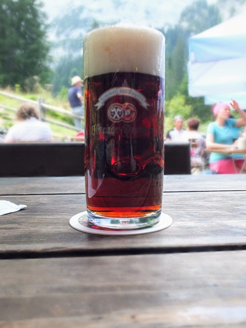 Hacker-Pschorr Dunkles at Kenzenhutte