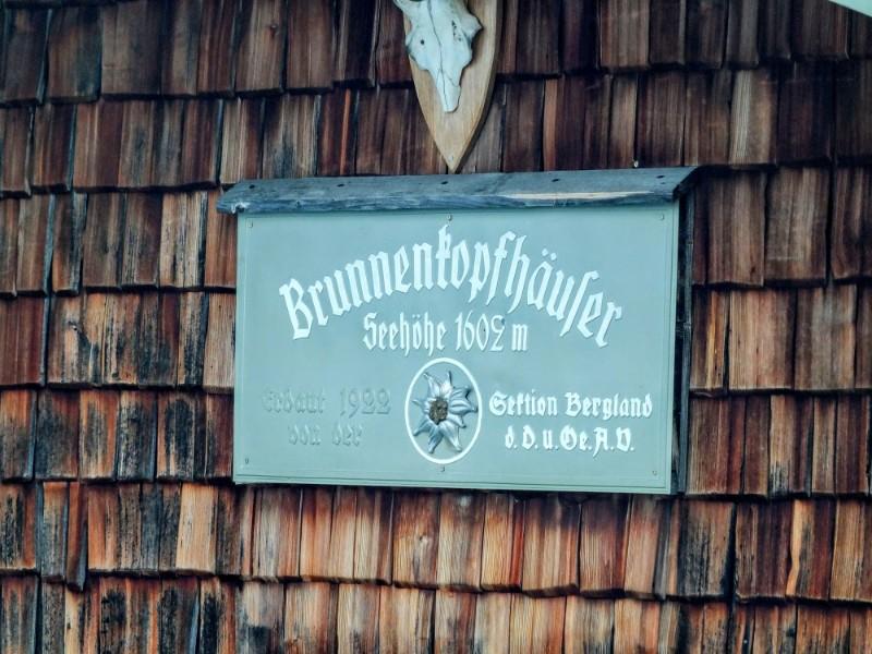 Brunnenkopf Hut