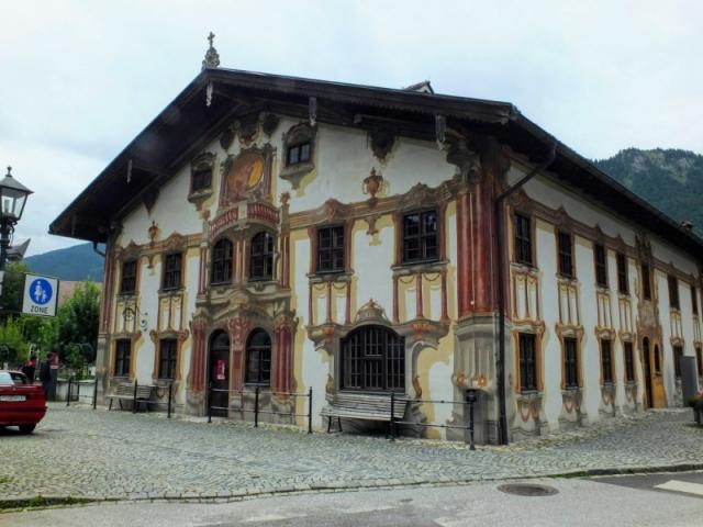 Rathaus fresco