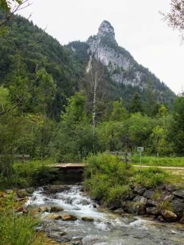 Kofel berg above Oberammergau