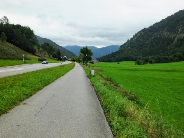 approaching Oberammergau