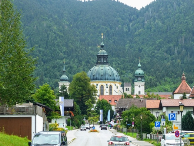 domes of Kloster Ettal