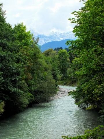 Partnach below the gorge