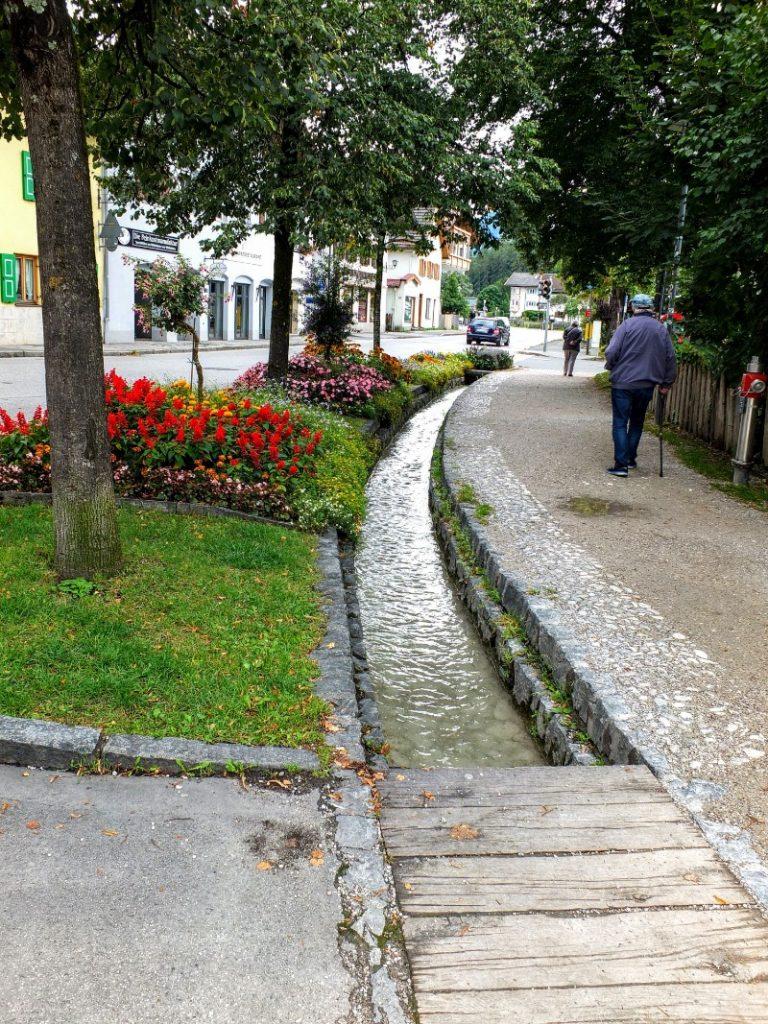 stream through town