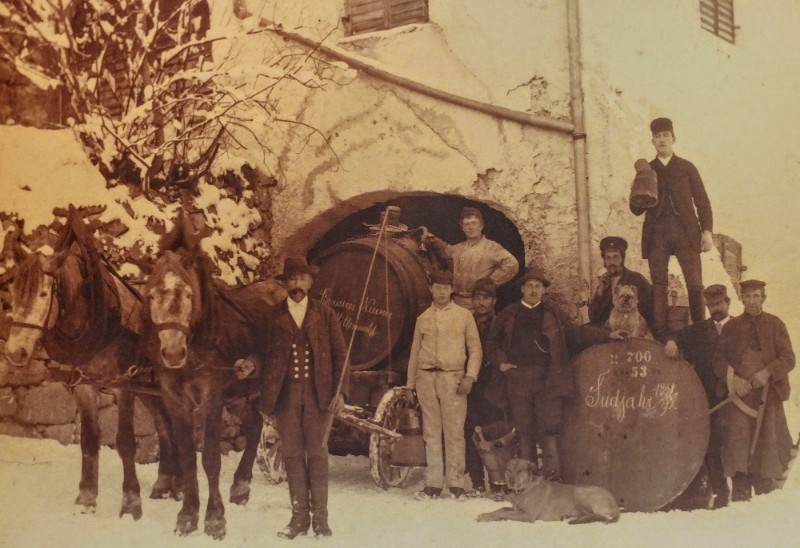 Historical photo Brauerei Mittenwald