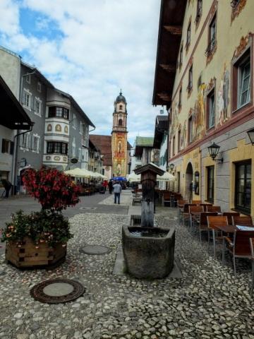 Mittenwald shopping street