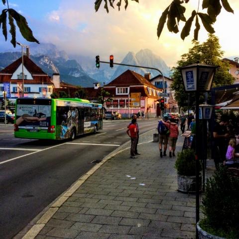 Garmisch town center