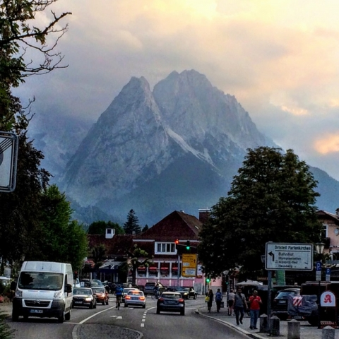 Zugspitze - Germany's highest peak