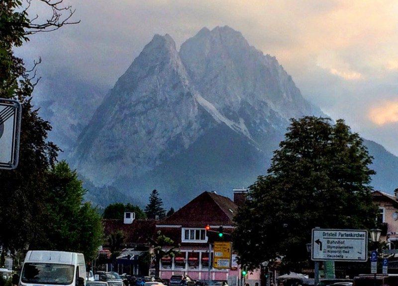 Two Bavarian Mountain Towns