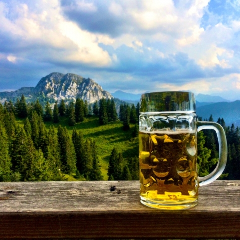 ABK Helles and a view
