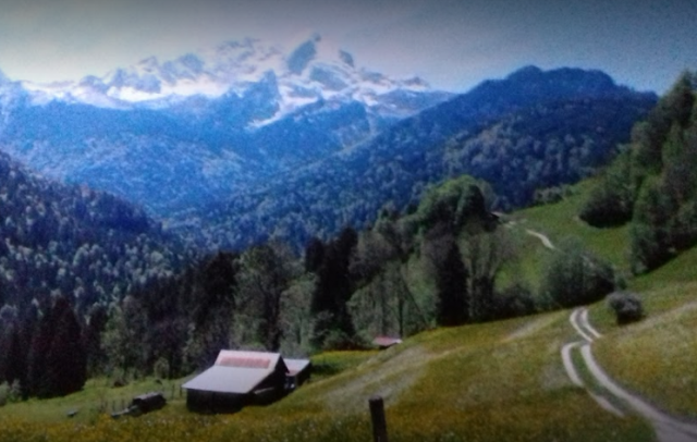 view from Berggasthof Hintergraseck, image by I. Rupp