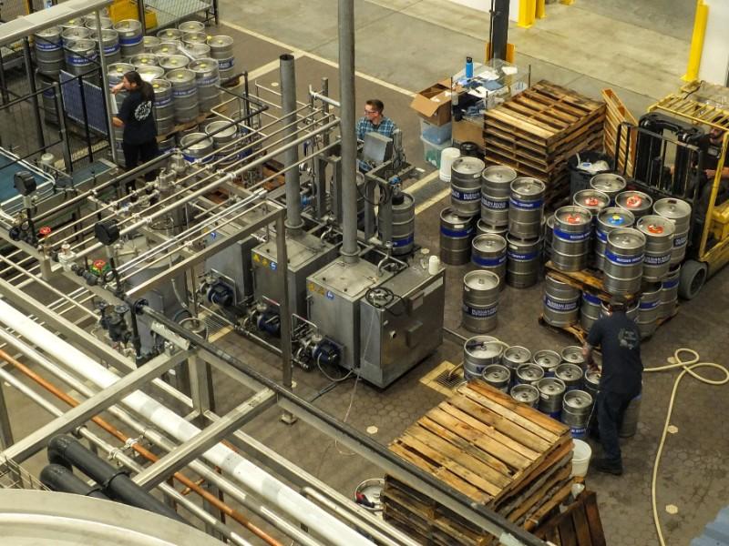 barrel filling line