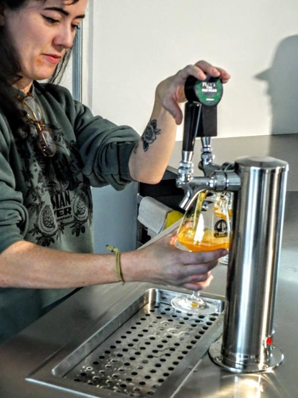 pouring Pliny