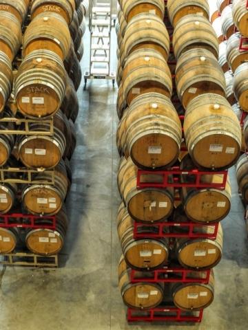 barrel aging facility