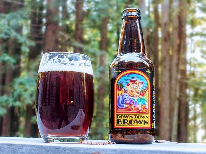 apres hike beer