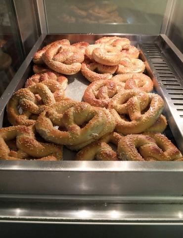 fresh pretzel snack