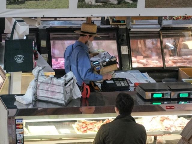 Amish counterman