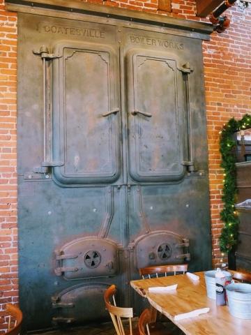 furnace doors