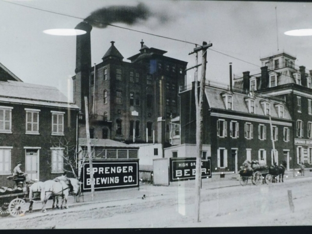 old-time Lancaster brewery