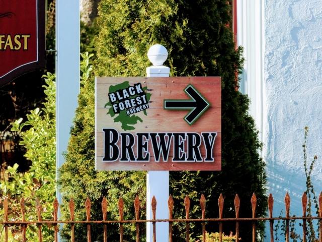 Black Forest sign
