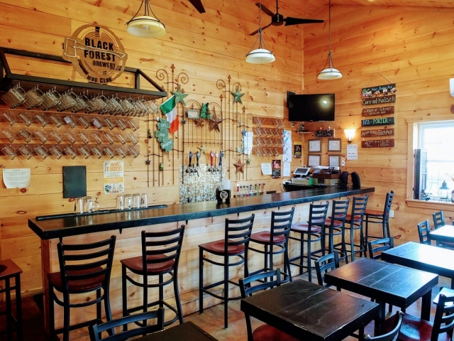 Black Forest Brewery tap room