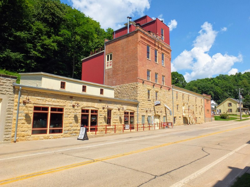 The old Potosi Brewery building houses the museum